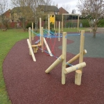 Rubber Mulch for Walkways in Abbey Yard 1