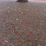 Bonded mulch for Daily Mile in Higher Town 1