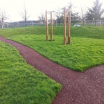 Play Area Rubber Mulch in Appleby Magna 1
