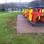 Play Area Rubber Mulch in Conwy 3