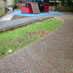Rubber Mulch Safety Flooring in Abbey Field 10
