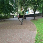 Rubber Mulch for Walkways in Abbey Yard 11