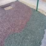 Play Area Rubber Mulch in Aberangell 3