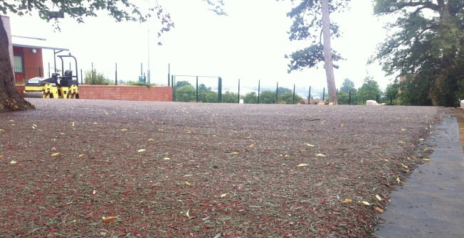Rubber Mulch LEAP Surface in Castlereagh