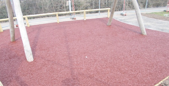 Rubber Mulch Repairs in Abbotsley